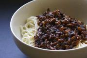 料理写真 ジャージャー麺